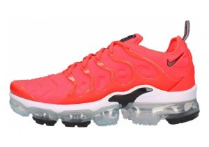 Nike Air VaporMax Plus Bright Crimson, White- Black