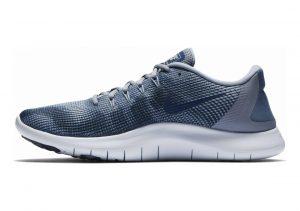 Nike Flex RN 2018 Blau (Ashen Slate/Blue Void-diffused 402)