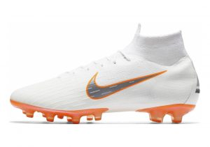 Nike Mercurial Superfly 360 Elite AG-PRO white/metallic cool grey/total orange