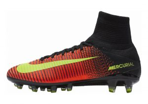 Nike Mercurial Superfly V Artificial Grass Pro Naranja (Total Crimson / Vlt-blk-pnk Blst)