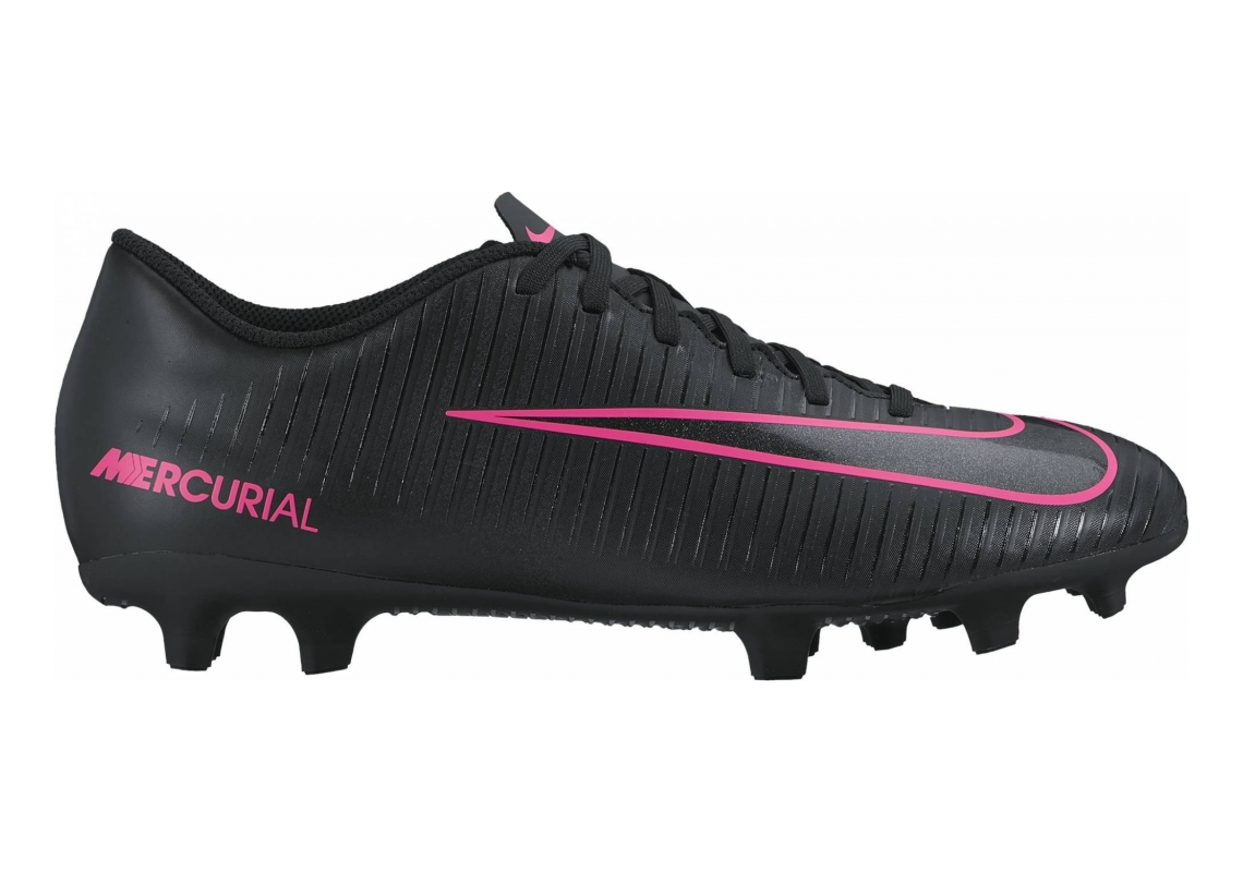 Nike Mercurial Vortex III Firm Ground Negro (Negro/(Black/Black) 000)