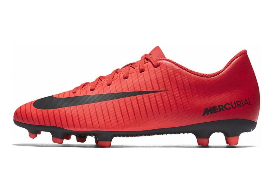 Nike Mercurial Vortex III Firm Ground Multicolor (University Redblackbright Crimson)