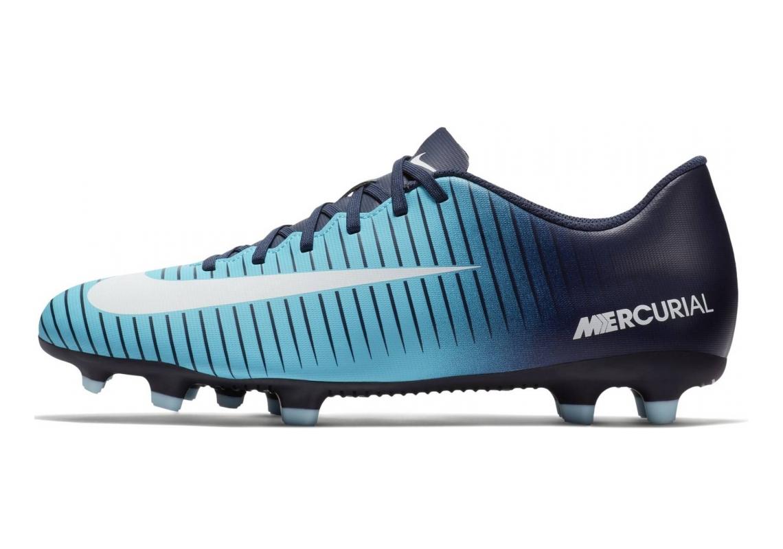 Nike Mercurial Vortex III Firm Ground Blau (Obsidian Blau/Weiß-gamma Blau 404)