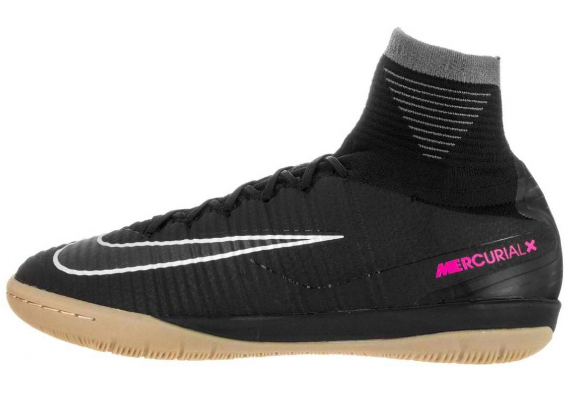 Nike MercurialX Proximo II Indoor black gum light brown 009