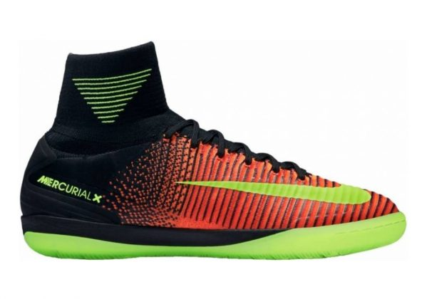 Nike MercurialX Proximo II Indoor Naranja (Total Crimson / Vlt-pnk Blst-blk)