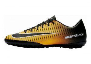 Nike MercurialX Victory VI Turf Black-Yellow