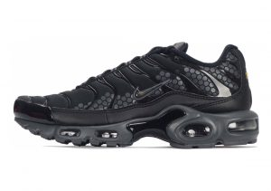 Nike Air Max Plus Black/Black/Dark Grey-White