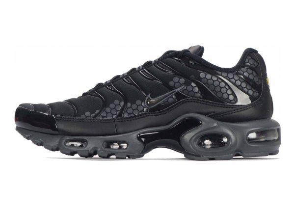 Nike Air Max Plus Black/Black/Dark Grey-White