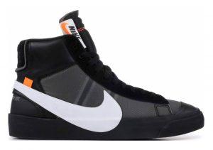 Nike Blazer Mid Black, Cone-black-white