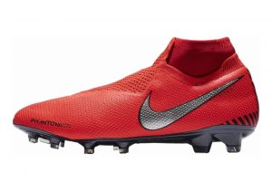Nike Phantom Vision Elite DF Firm Ground Red