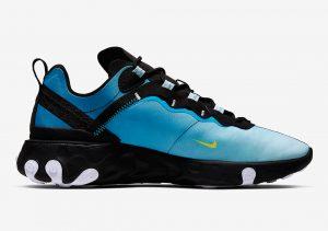 Nike React Element 55 Blue Void/Black-Light/ Current Blue