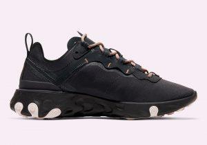 Nike React Element 55 Black Grey