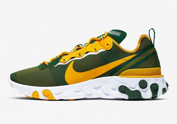 Nike React Element 55 Packers