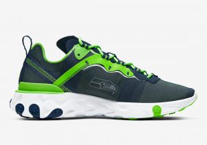 Nike React Element 55 Seahawks