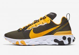Nike React Element 55 Steelers