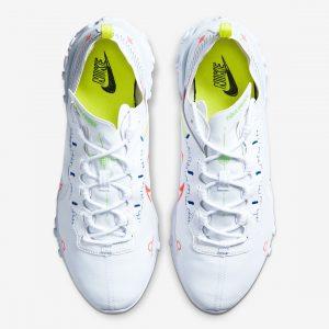 Nike React Element 55 White Racer/Blue/Green Strike/Laser Crimson