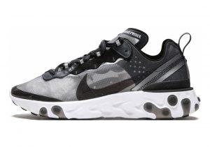 Nike React Element 87 Anthracite/ Black/ White