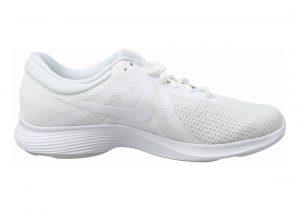 Nike Revolution 4 White/White-pure Platinum
