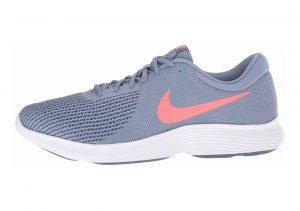 Nike Revolution 4 Ashen Slate/Flash Crimson-diffused Blue