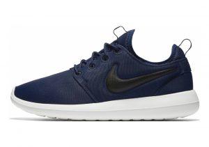 Nike Roshe Two Azul (Midnight Navy / Black-sail-volt)