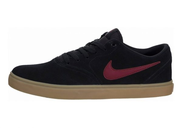 Nike SB Check Solarsoft Black / Team Red-gum Light Brown