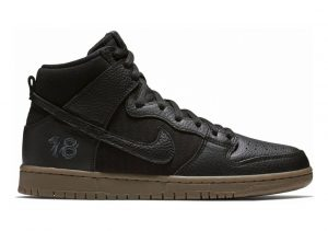 Nike SB Dunk High Pro QS Multicolore (Black/Black-anthraci 001)