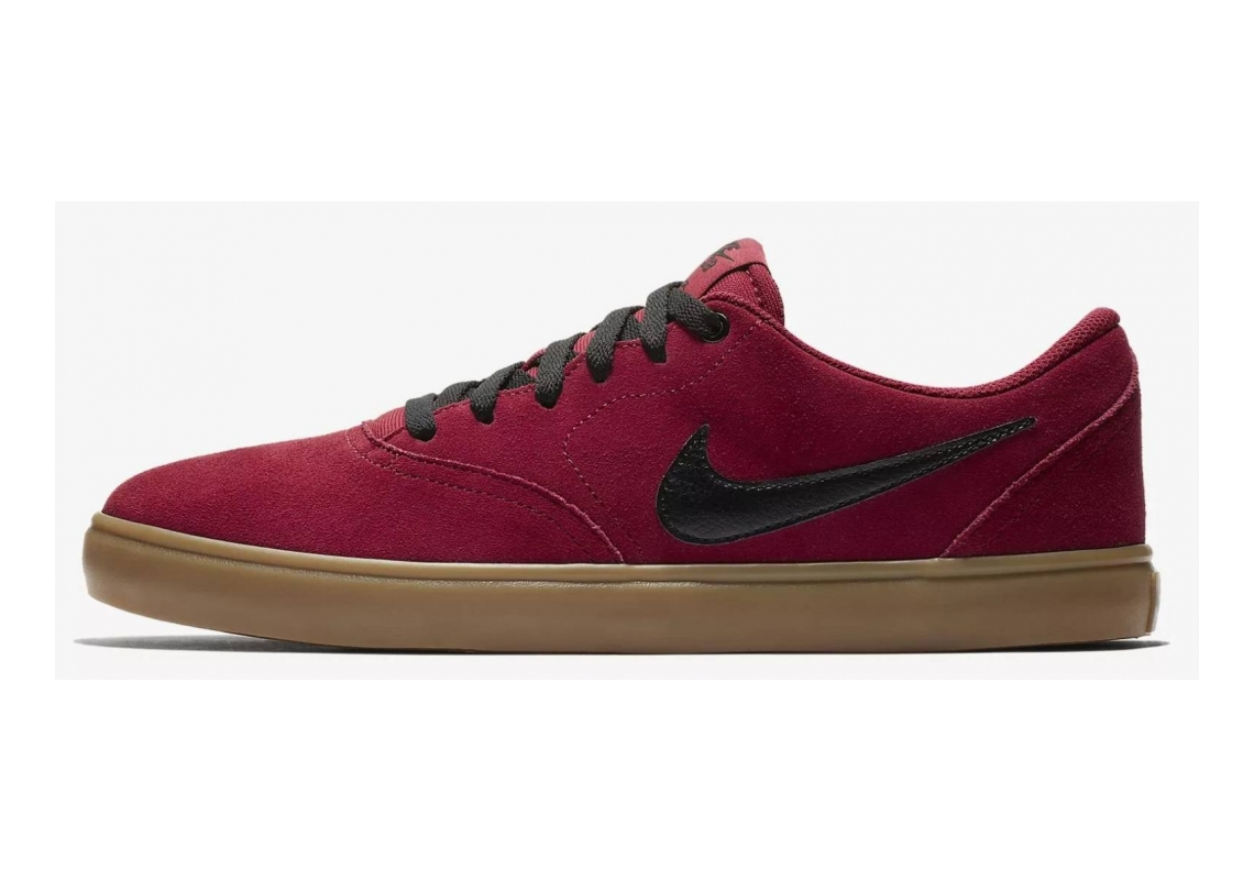 Nike SB Check Solarsoft Mehrfarbig (Red Crush/Black/Gum Light Brown 601)