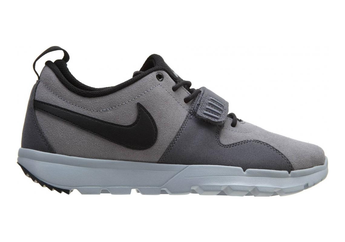 Nike SB Trainerendor Leather Cargo Khaki/Metallic Cool Grey-white-white