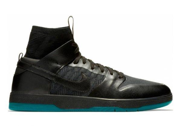 Nike SB Dunk High Elite Black Atomic Teal 003