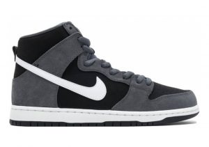Nike SB Dunk High Pro Dark Grey/White-black-white
