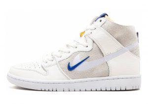 Nike SB Dunk High Pro QS White