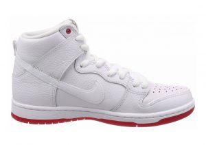 Nike SB Dunk High Pro QS Multicolore (White/White-universi 116)