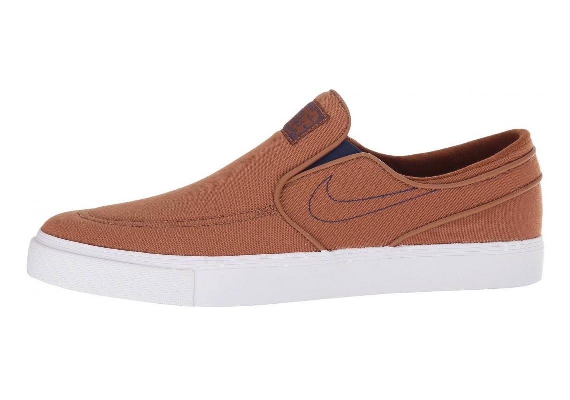 Nike SB Zoom Stefan Janoski Slip-On Canvas Brown