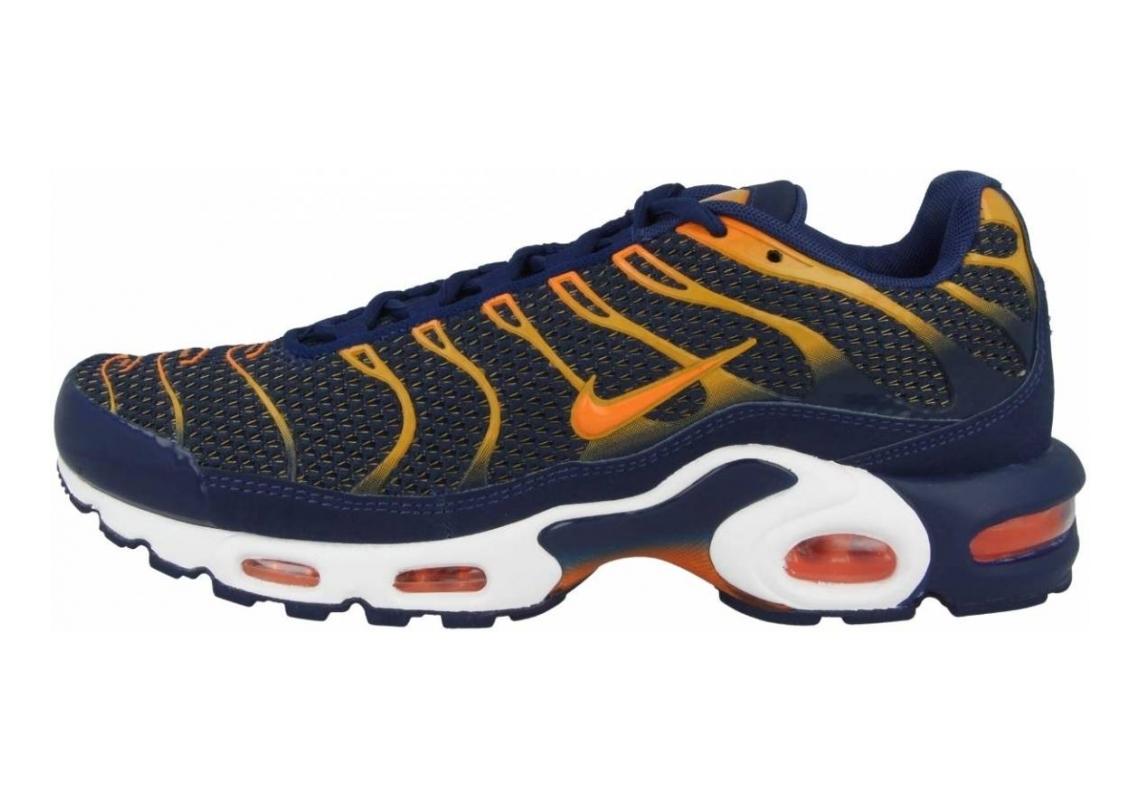 Nike Air Max Plus Blue Void-total Orange-university Gold