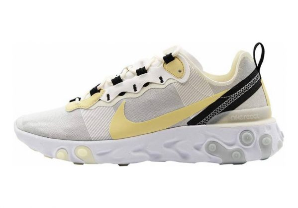Nike React Element 55 Multicolore (White/Pale Vanilla/Black/Pale Ivory 101)