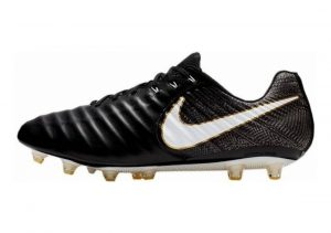 Nike Tiempo Legend VII AG-Pro Artificial Grass Nero (Black/White-black-metallic Vivid Gold)