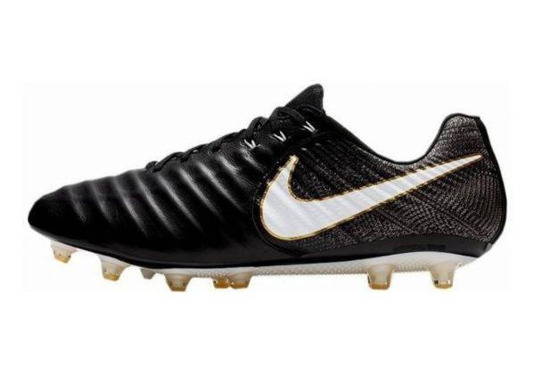 Nike Tiempo Legend VII AG-Pro Artificial Grass Nero (Black/White-black-metallic Vivid Gold)