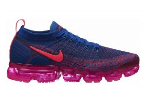 Nike Air VaporMax Flyknit 2 Multicolore (Racer Pink/Racer Pink/Racer Blue 601)