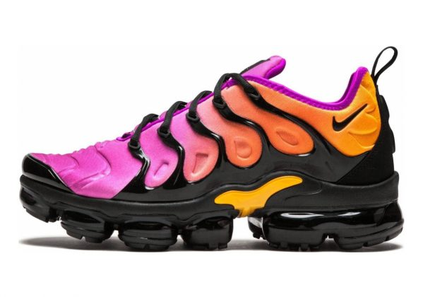 Nike Air VaporMax Plus Black, Black-fuchsia Blast