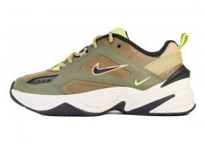 Nike M2K Tekno Multicolore (Medium Olive/Black/Yukon Brown 201)