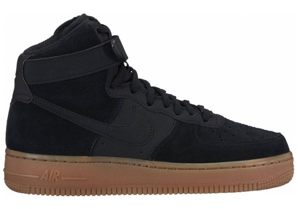 Nike Air Force 1 High SE University Gold//Dk Grey Heather