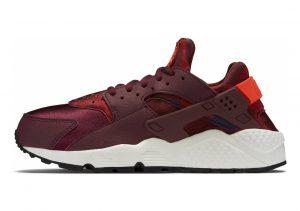 Nike Air Huarache Print Deep Garnet/Bright Crimson