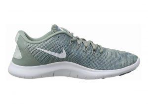 Nike Flex RN 2018 Mica Green/White/Light Silver