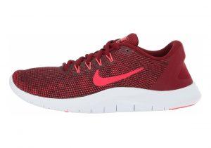 Nike Flex RN 2018 Multicolore (Team Red / Flash Crimson / Burgundy Ash 600)
