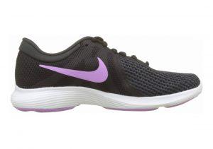 Nike Revolution 4 Black Fuchsia Glow Oil Grey Wt