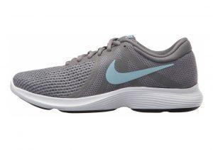 Nike Revolution 4 Gunsmoke/Ocean Bliss/Dark Grey