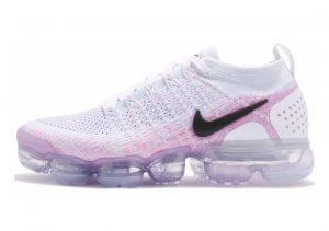 Nike Air VaporMax Flyknit 2 White/Black/Hydrogen Blue/Pink Beam