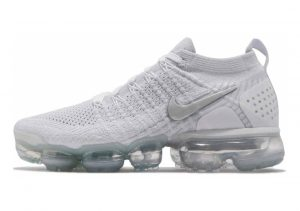 Nike Air VaporMax Flyknit 2 Multicolore (White/Vast Grey 001)