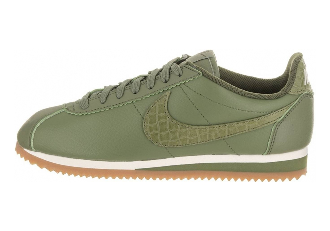 Nike Classic Cortez Leather Lux Green