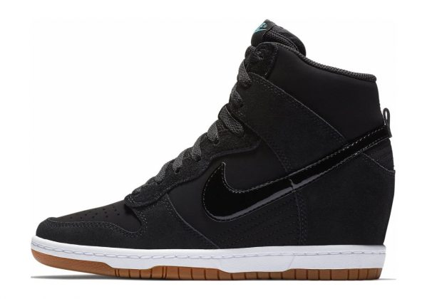 Nike Dunk Sky Hi Essential Black/Black-sail-gum Med Brown